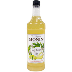 Monin Key Lime Pie Drink Syrup, 1 Liter