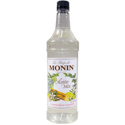 Monin Mojito Mix Drink Syrup, 1 Liter