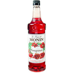 Monin Pomegranate Drink Syrup, 1 Liter