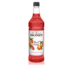Monin Blood Orange Drink Syrup, 1 Liter