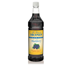 Monin Sugar Free Blackberry Drink Syrup, 1 Liter