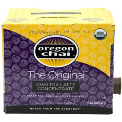 Oregon Chai Original Bag n Box, 1.5 Gallon