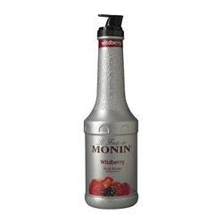 Monin Wildberry Puree Fruit Puree, 1 Liter