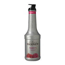 Monin Raspberry Puree Fruit Puree, 1 Liter