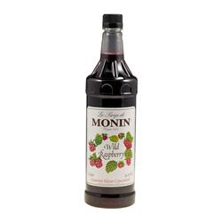 Monin Pet Wild Raspberry Drink Syrup, 1 Liter