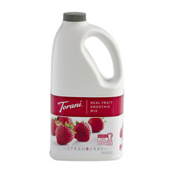 Torani® Real Fuit Smoothie Strawberry Mix, 64 oz