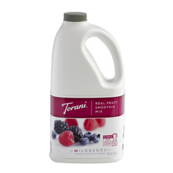 Torani® Real Fruit Smoothie Wildberry Mix, 64 oz