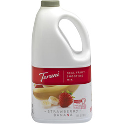 Torani® Real Fruit Smoothie Strawberry Banana Mix