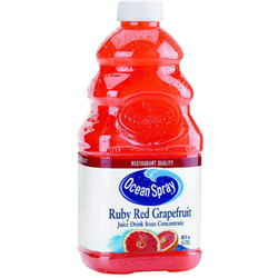 Ocean Spray Ruby Red Grapefruit Juice Drink