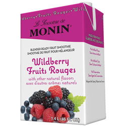 Monin Wild Berry Fruit Smoothie Mix