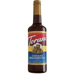 Torani® Chocolate Macadamia Nut Syrup PET