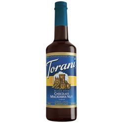 Torani® Chocolate Macadamia Nut Syrup Sugar Free PET