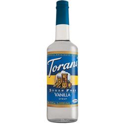 Torani® Vanilla Syrup Sugar Free PET