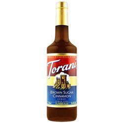 Torani® Brown Sugar Cinnamon Syrup PET, 750 mL