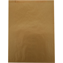 Duro Paper Merchandise Bags, 22 1/2 inx30 in, Natural