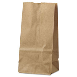 Duro Paper Grocery Bags, 2#, Natural