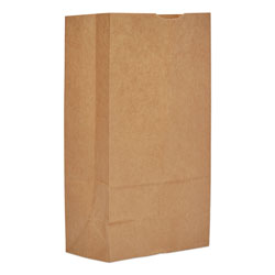GEN Grocery Paper Bags, 12 lbs Capacity, #12, 7.06 inw x 4.5 ind x 13.75 inh, Kraft, 500 Bags