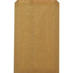 Duro Paper Merchandise Bags, 10 inx15 in, Natural