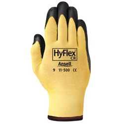 Ansell High Flex Cr Black Foamnitrile Glove