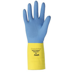 Ansell 192243 8 Chemi-pro Heavy Duty Neoprene/nat Latex