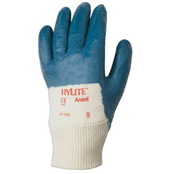 Ansell 205931 8 Hylite-medium Weight Nitrile Coated