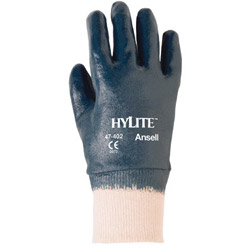 Ansell 205943 9 Hylite-medium Weight Nitrile Coated