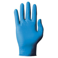 Ansell 586195 Lrg Tnt Blu-disposable Nitrile-100glvs/bx