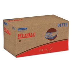 WypAll* L10 SANI-PREP Dairy Towels,POP-UP Box, 1Ply, 10 1/2x10 1/4, 110/Pk, 18 Pk/Carton