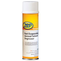 Zep Fast Evaporating Solvent Degreasers, 20 oz Aerosol Can