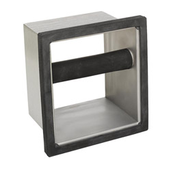 "Espresso Supply 6"" x 5 1/2"" x 4"" Knock Chute"