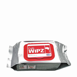Cafe Wipz™ Wipes, 12 Packs of 100