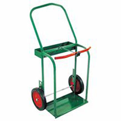 Anthony High-Rail Frame Dual-Cylinder Carts, Holds 8in-8.5in dia. Cylinders