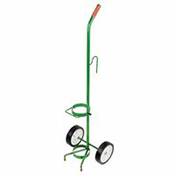 Anthony Single Cylinder Carts, 6 in Rubber/Plastic Rim Wheels