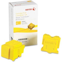 Xerox 108R00928 Solid Ink Stick, 4400 Page-Yield, Yellow, 2/Box
