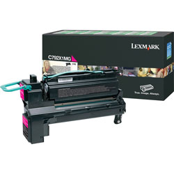 Lexmark Magenta Toner Cartridge for C792 X792 Extra High Yield