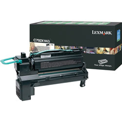 Lexmark Black Toner Cartridge for C792 X792 Extra High Yield
