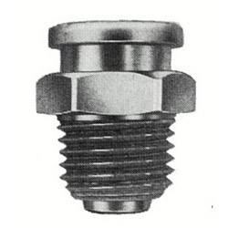 "Alemite 1/4"" PTF(m) Button Head Fitting"