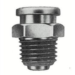 "Alemite 1/4"" PTF(m) Button Head Fitting"