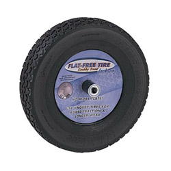 "Jackson Tools Knobby Flat Freetire (mounted On 8"" Whl)"