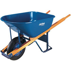 Jackson Tools 6 Cu. Ft. Wheelbarrow Folded Steel Tray