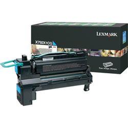 Lexmark X792 Cyan Extra High Yield Return Program Print Cartridge