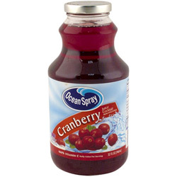 Ocean Spray 32 Ounce Cranberry Juice
