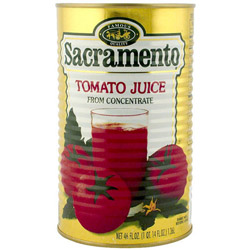 Red Gold 46 Ounce Sacramento Tomato Juice