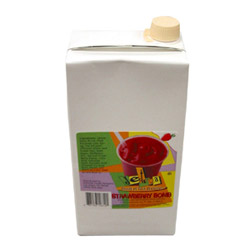 Oregon Chai 64 Ounce Jet Tea Strawberry Bomb Smoothie Mix