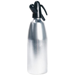United Brands whip-it!™ Soda Siphon Silver 1 ltr