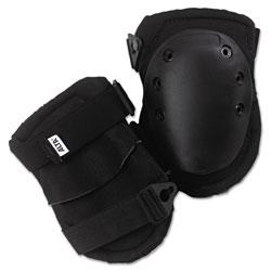 Alta AltaLok Knee Pads, Fastener Closure, Neoprene/Nylon, Rubber, Black