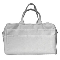 Alta Canvas Organizer Bag, 24 Pockets, 16in