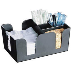 Carlisle Foodservice Products Black Bar Caddy