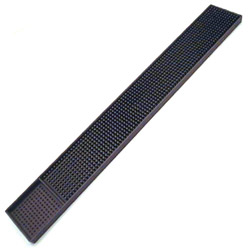 Spill-Stop Manufacturing Company Brown Rubber Bar Mat