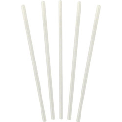 WNA Comet Jumbo Unwrapped Clear Straws, 7.75